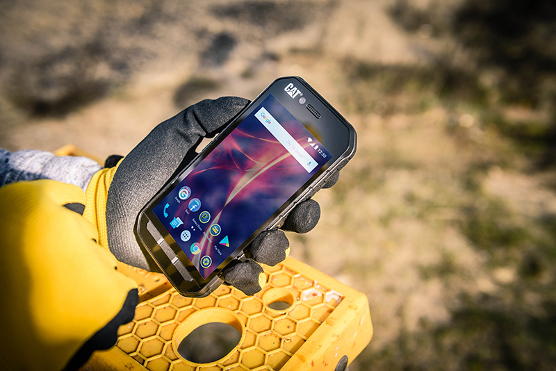 Share the Power with the New, Rugged, Cat S41 Smartphone