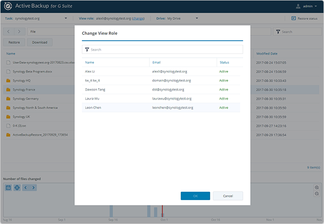 SynologyAnnounces the Official Release of Active Backup for G Suite/Office 365